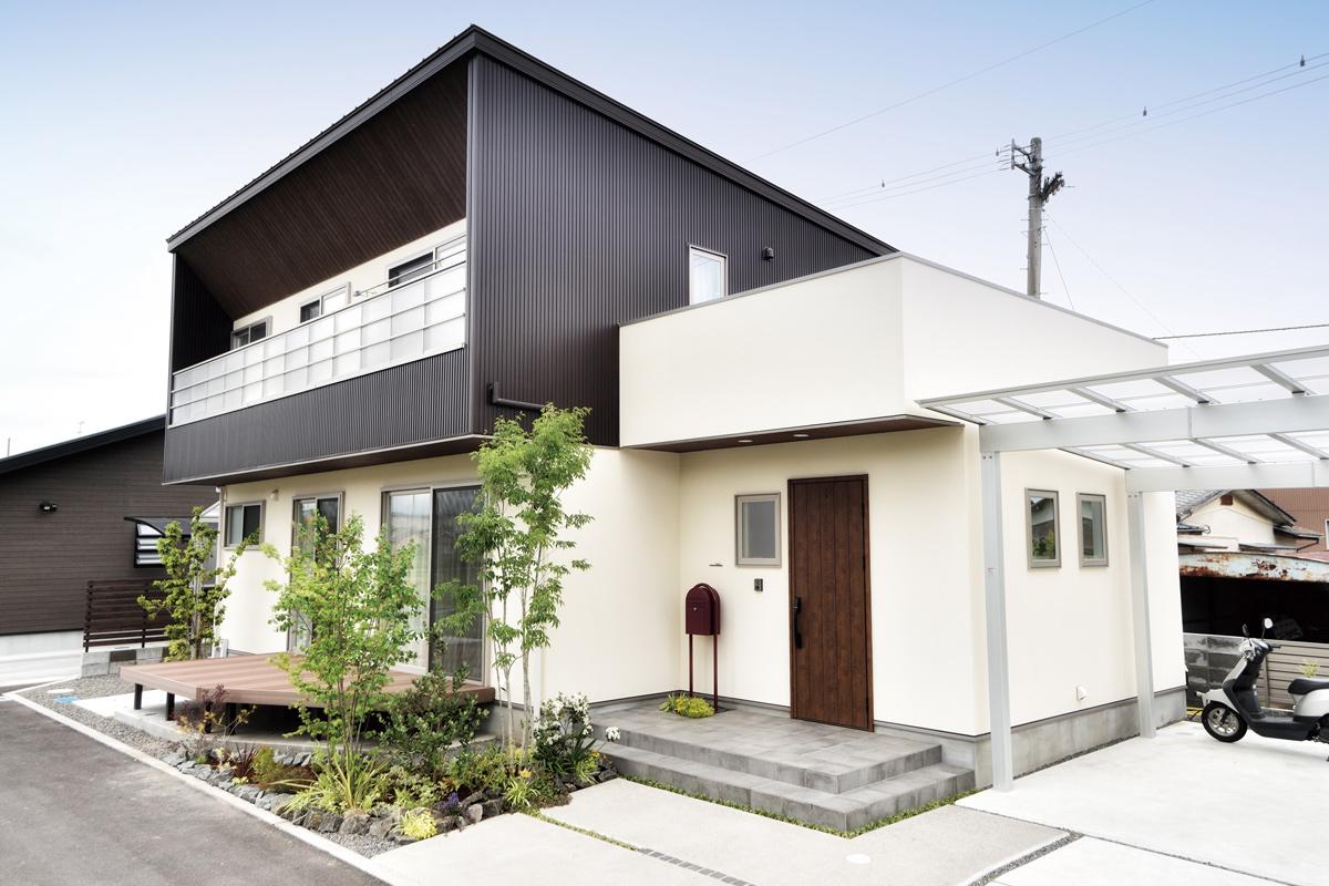 若い子育てファミリーの成長を見守る、川下建設デザインの家